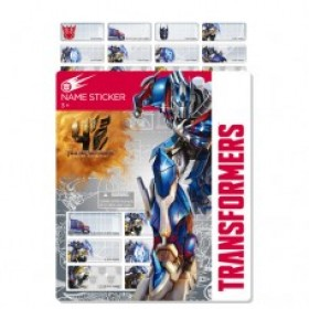 Transformer Name Stickers (Small)
