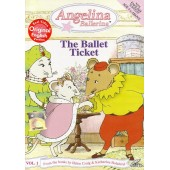 Angelina Ballerina - The Ballet Ticket (Vol. 1) (VCD)
