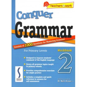 Conquer Grammar For Primary Levels - Workbook 2