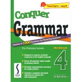 Conquer Grammar For Primary Levels - Workbook 4