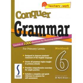 Conquer Grammar For Primary Levels - Workbook 6