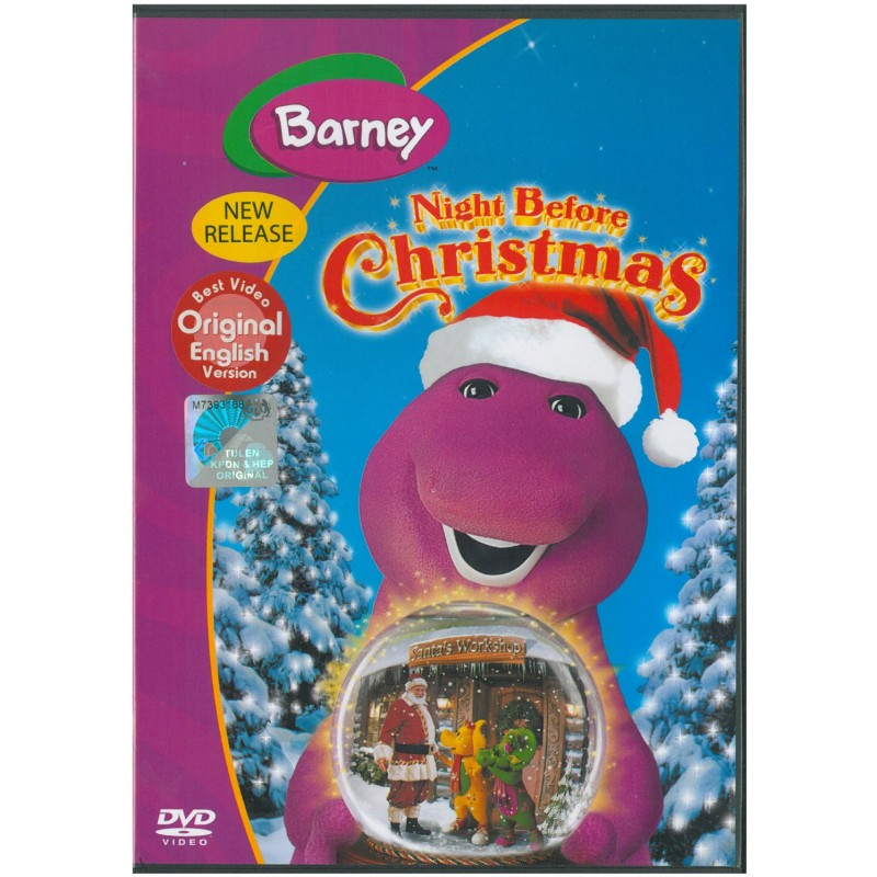Barney Before Night Christmas | X-Mas