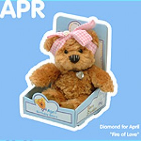 April Birthday Bear