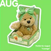 August Birthday Bear