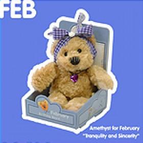 February Birthday Bear