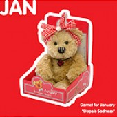 January Birthday Bear
