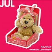 July Birthday Bear