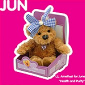 June Birthday Bear