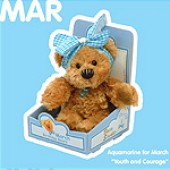 March Birthday Bear