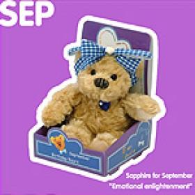 September Birthday Bear