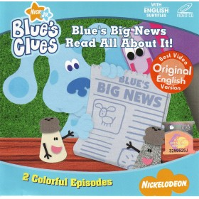 Blue's Clues - Blue's Big News Read All About It! (VCD)