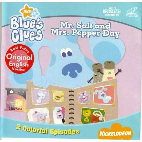 Blue's Clues - Mr. Salt and Mrs. Pepper Day (VCD)