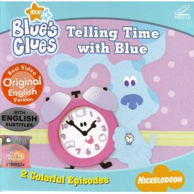 Blue's Clues - Telling Time with Blue (VCD)