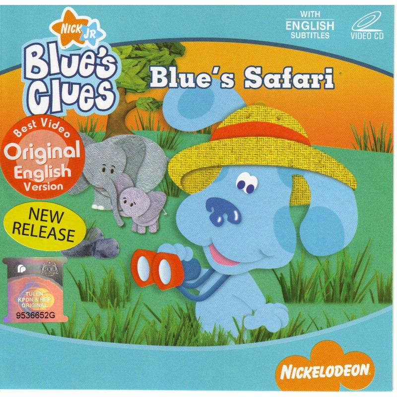 Blue S Clues Blue S Safari Vcd