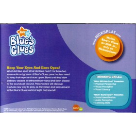 Blue's Clues - Stop, Look and Listen! (VCD)