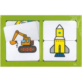 配對遊戲卡-交通工具