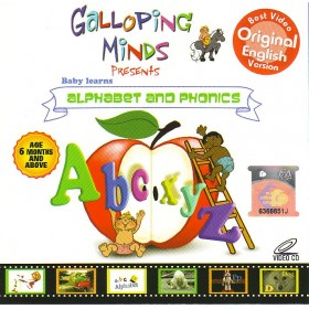 Galloping Minds - Baby Learns Alphabet and Phonics (VCD)