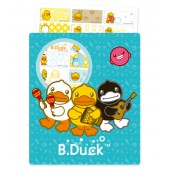 B. Duck Name Stickers (Medium)