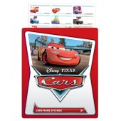 Cars Name Stickers (Medium)