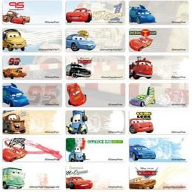 Cars Name Stickers (Medium)