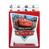 Cars Name Stickers (Small)