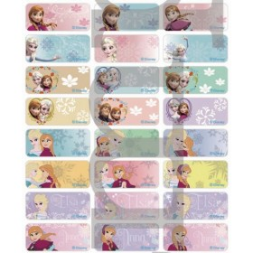 Frozen Name Stickers (Medium)