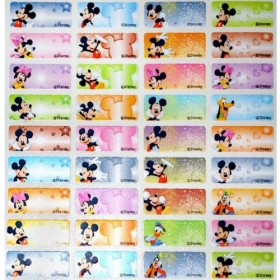 Mickey Mouse Name Stickers (Small)