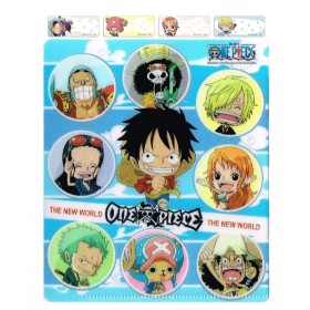 One Piece Name Stickers (Small)