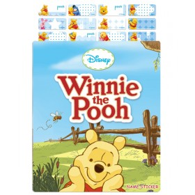 Winnie The Pooh Name Stickers (Small)