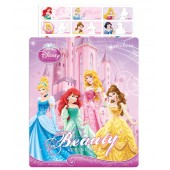 Disney Princesses Name Stickers (Medium)
