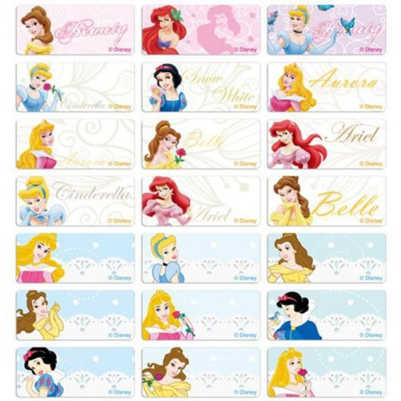 all the princesses names and pictures