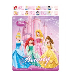 Disney Princesses Name Stickers (Small)