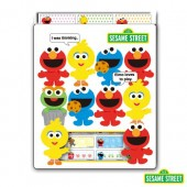Sesame Street Name Stickers (Medium)