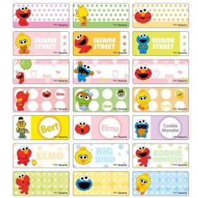 Sesame Street Name Stickers (Medium)