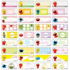 Sesame Street Name Stickers (Small)