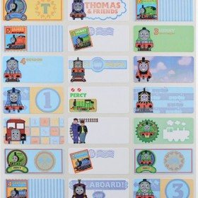 Thomas Name Stickers (Medium)