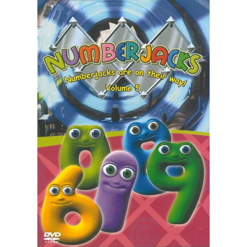 Numberjacks Series 1 Vol 5 – Numberjacks Birthday Card