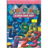 Numberjacks Series 1 5-DVD Boxset