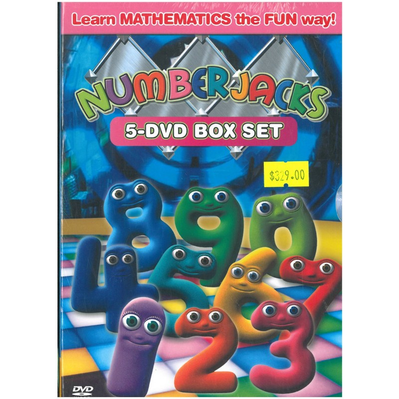 Numberjacks Series 1 5 Dvd Boxset