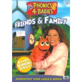 Phonics 4 Babies: Friends & Family