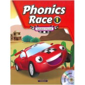 Phonics Race Book 1 - Alphabet & Sounds