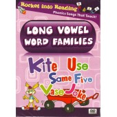 Rocket Into Reading - Long Vowel Word Families
