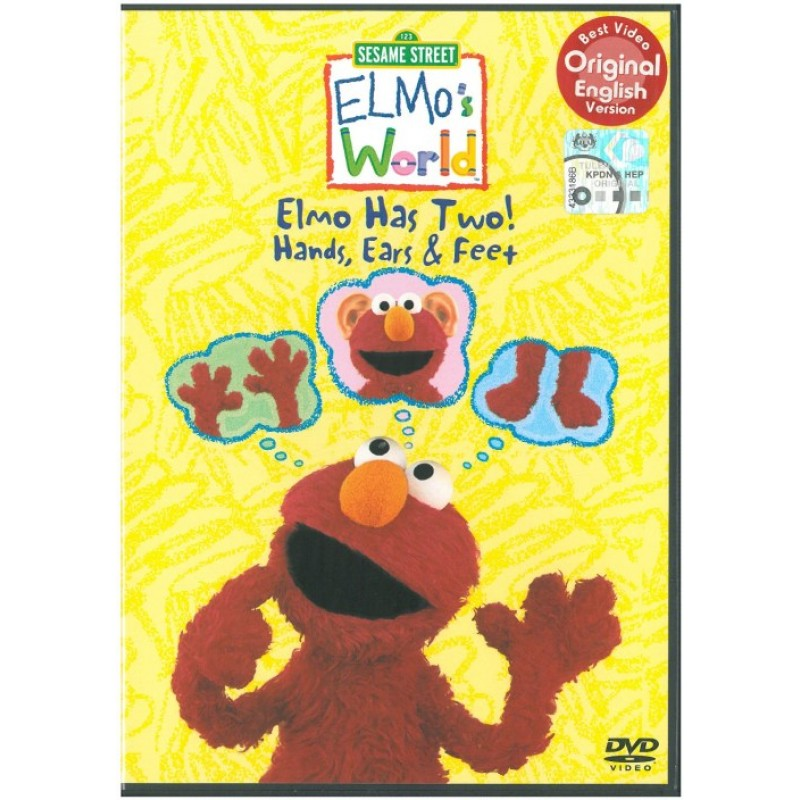 Sesame Street Elmos World Feet | Car Interior Design