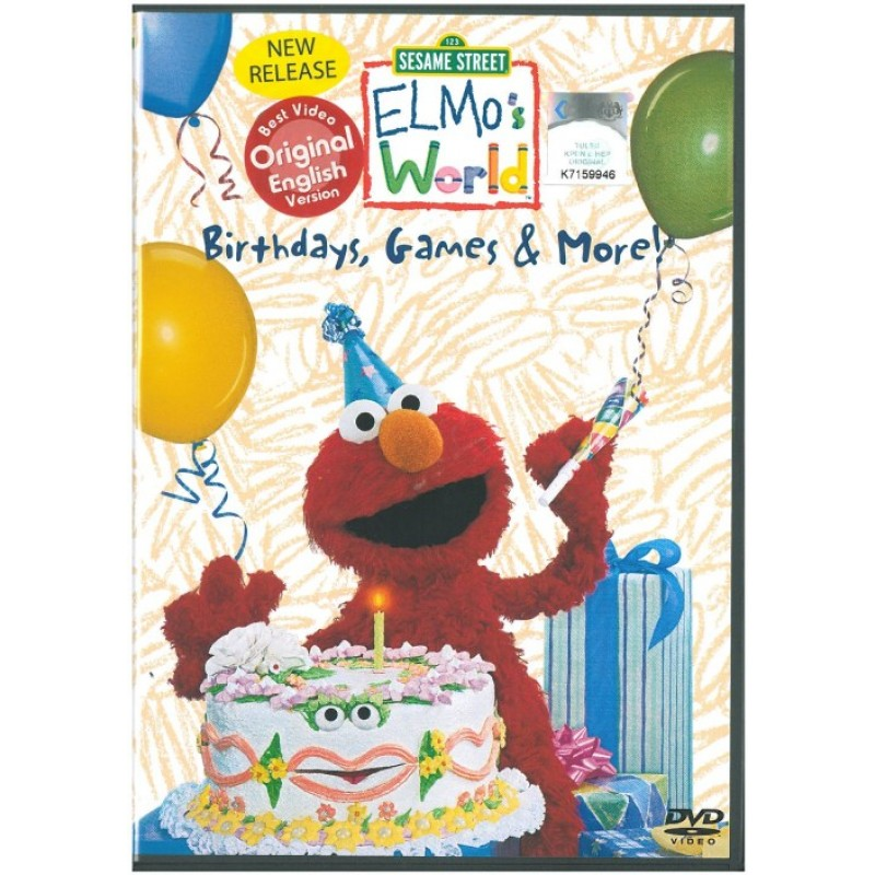 Sesame Street - Elmo's World - Birthdays, Games & More!