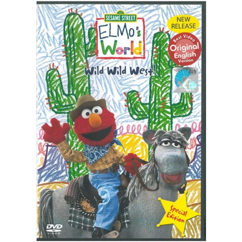 Sesame Street Elmo S World Wild Wild West