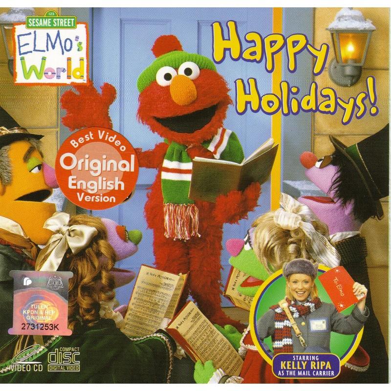 Sesame Street Elmo S World Happy Holidays Vcd