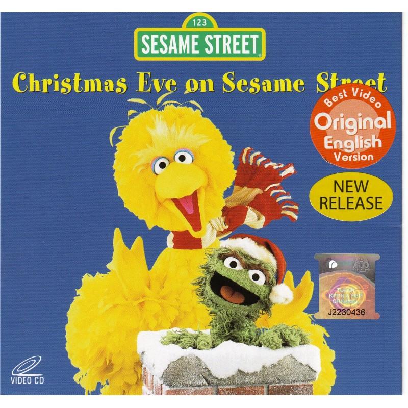 Christmas Eve On Sesame Street.Sesame Street Christmas Eve On Sesame Street Vcd