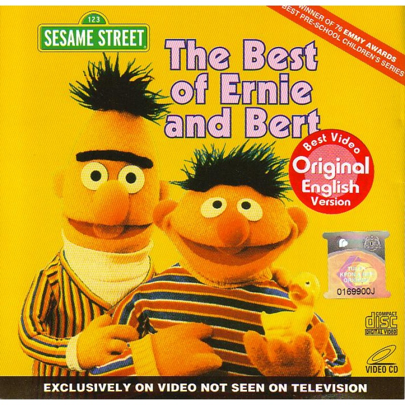 Sesame Street The Best Of Ernie And Bert Vcd