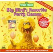 Sesame Street - Big Bird's Favorite Party Games (VCD)