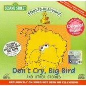 Sesame Street - Don't Cry, Big Bird and Other Stories (VCD)